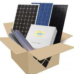 Compleet zonnepaneel pakket